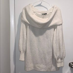 White EXPRESS sweater
